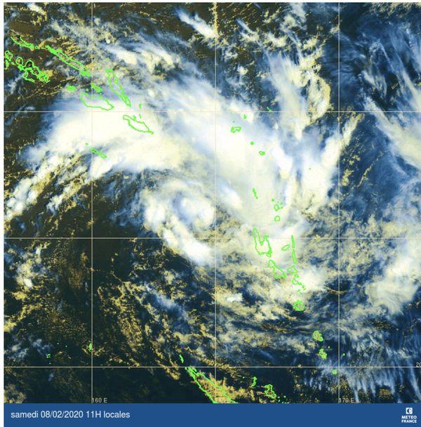 dépression tropicale 8 février 2020