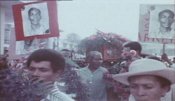 Obsèques de Ilmany Sérier dit Rénor février 1974