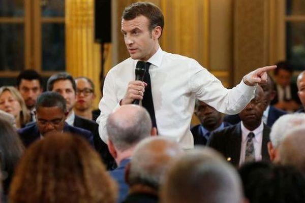 Macron Elysée GDN