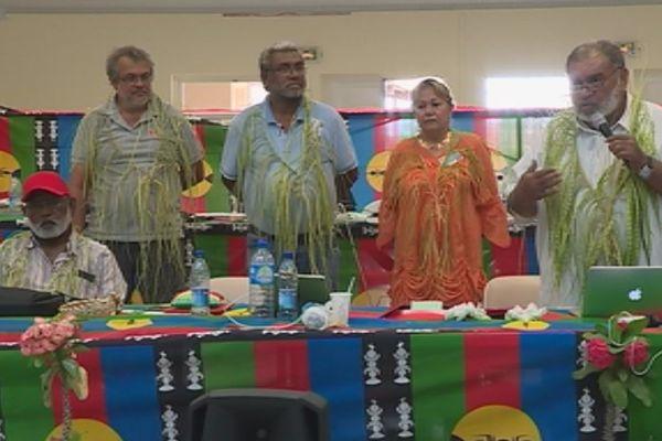 Huitième congrès du Parti travailliste Nouméa (18 novembre 2017)