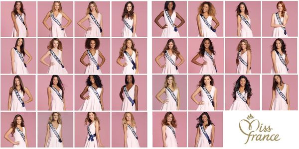 30 candidates Miss France