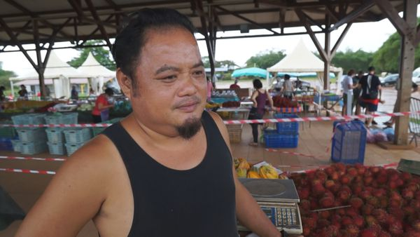 Gilles Lau, producteur de fruits et légumes