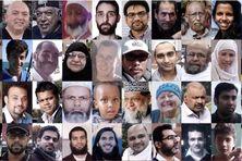 Les visages et les noms des cinquante victimes se sont affichés à travers le pays.