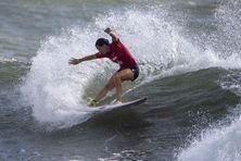 Johanne Defay a été éliminée en 8es de finale de la toute première compétition de surf aux Jeux Olympiques.