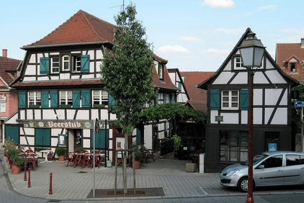 Rue Principale, Schiltigheim. C'est dans cette commune près de Strasbourg que des moustiques tigres ont été repérés.