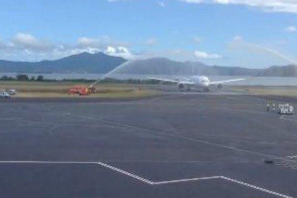 Boeing 787-8 d'Air Austral qui va assurer la liaison