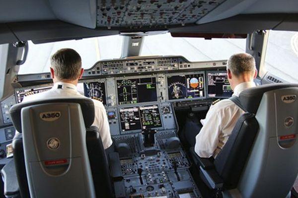 Poste de pilotage Airbus A350