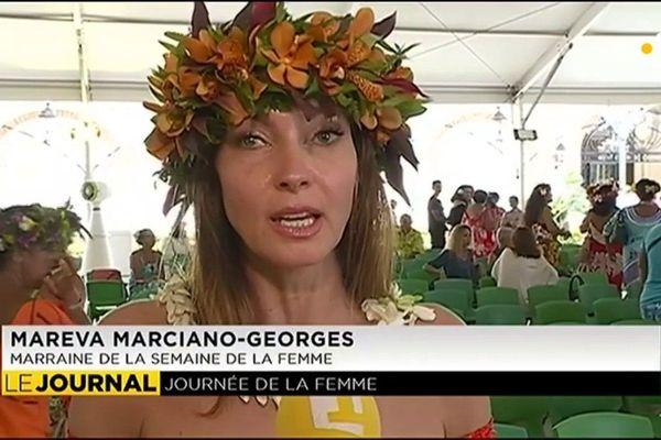 Portrait de femmes : Mareva Georges