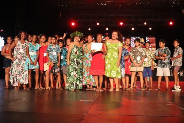 3èmeprix catégorie 'Ori: le collège de Faaroa de Raiatea