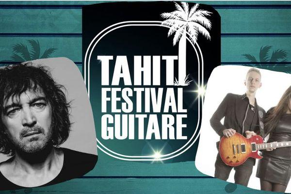 L'affiche du Tahiti Festival Guitare 2019