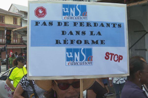 Mobilisation contre le projet de la réforme des retraites