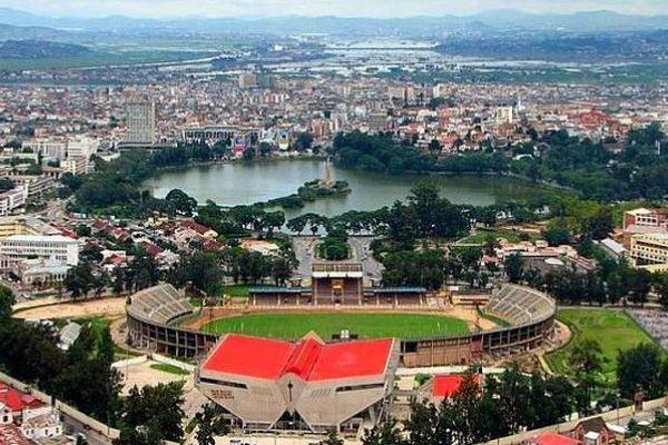 Madagascar stade football