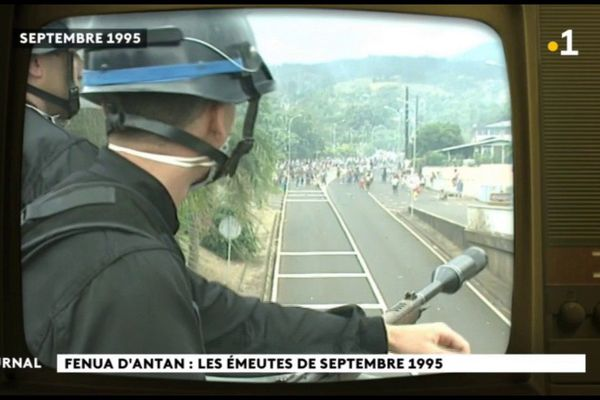 Te hono tau : les émeutes de 1995