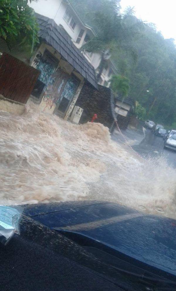 Inondations fortes pluies