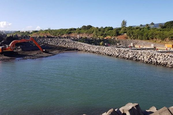 port de sainte-marie travaux ensablement chenal pêcheurs 080621