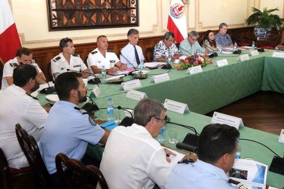 Première réunion de la commission maritime mixte Etat / Pays - Polynésie la 1ère