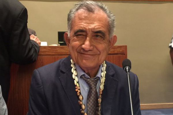 Archives/ Oscar Temaru à l'ONU