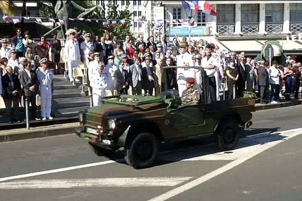 Le défilé du 14 juillet à Saint-Denis