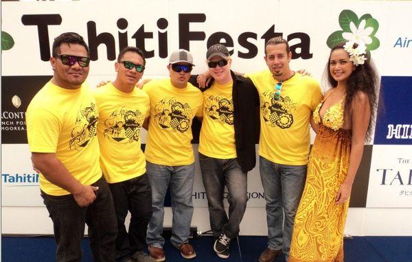 Teiva LC, Teraina et les Vintage au Tahiti Festa 2014