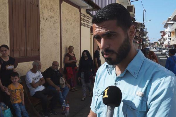 Bachar, demandeur d'asile syrien