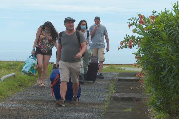 Passagers à la presqu'île