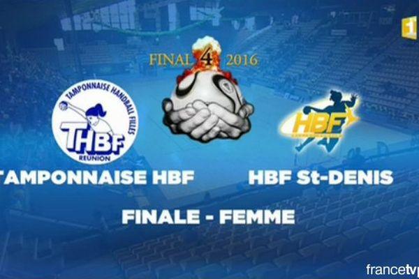 Handball : Tamponnaise HBF - HBF St-Denis