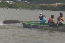 Le comité yole de Martinique à l'Unesco a organisé une course locale de godillage, geste essentiel à la pratique de la yole martiniquaise.