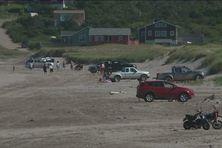 La circulation sur l'isthme de Miquelon-Langlade sera règlementée.