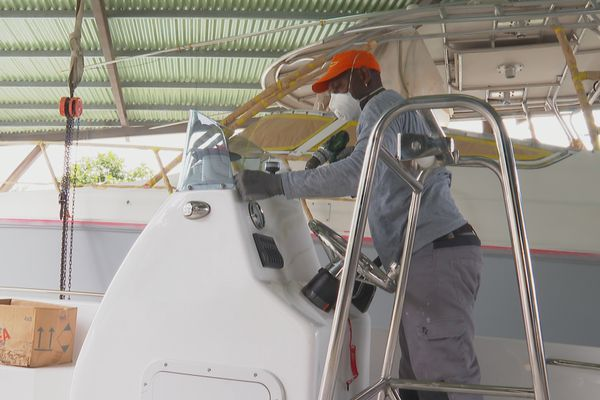 Emploi maritime découverte métiers au chantier naval Forbin