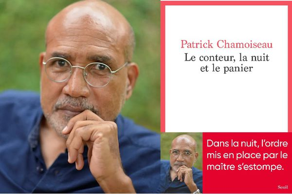 """Patrick Chamoiseau, auteur de """"Le Conteur, la nuit et la panier"""" (éd. Seuil)"""