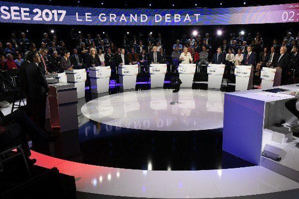 Elysée 2017, le grand débat sur BFM et CNews