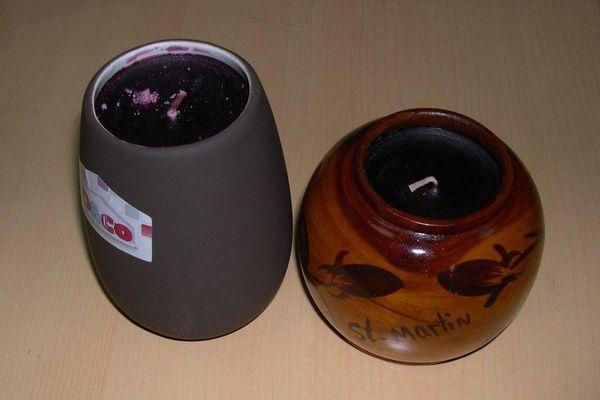 Des bougies saisies par les douaniers