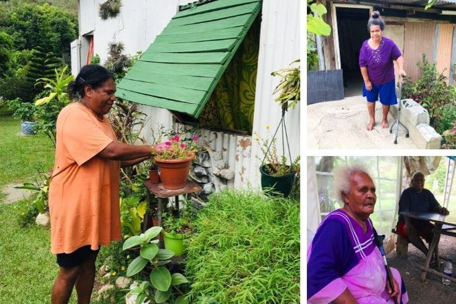 Les squatteurs de Dumbéa Nord demandent le courant - Nouvelle-Calédonie la 1ère