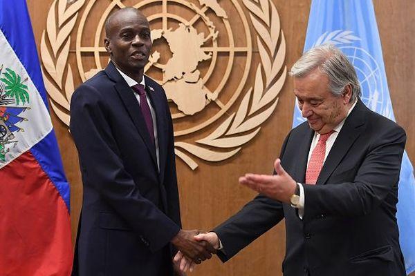 Président haïtien ONU