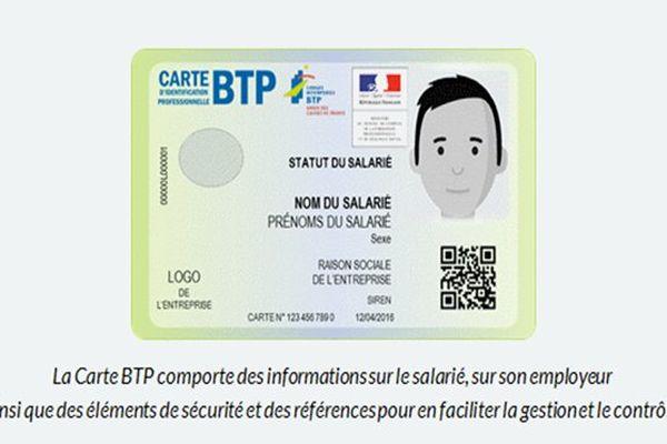 BTP carte