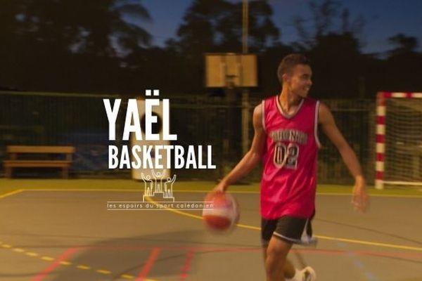 Les espoirs du sport calédonien : Yaël Tui, le basket-ball en héritage