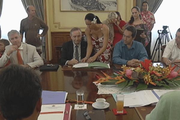 signature présidence