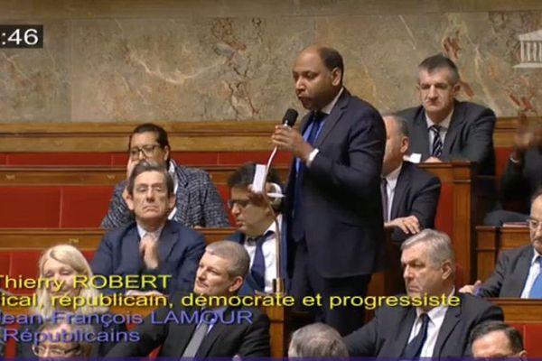 Thierry Robert à l'Assemblée nationale