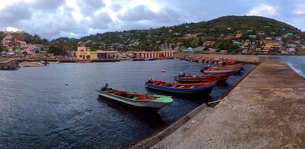 Sainte Lucie, port de pêche de Dennery
