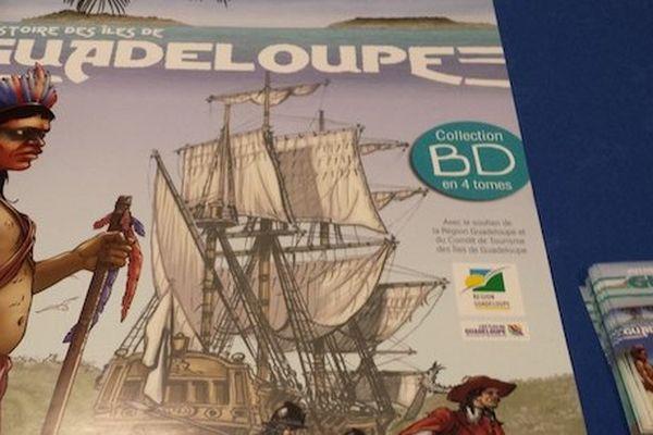 histoire de la Guadeloupe en BD