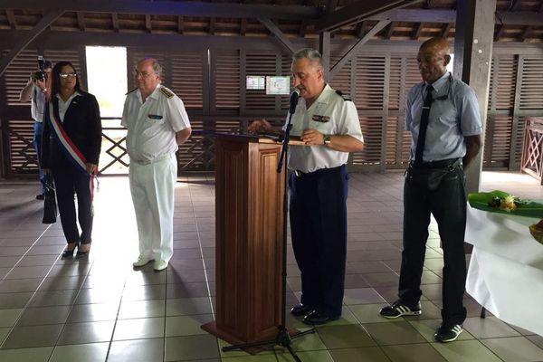 Le nouveau commandant de la gendarmerie en Guyane