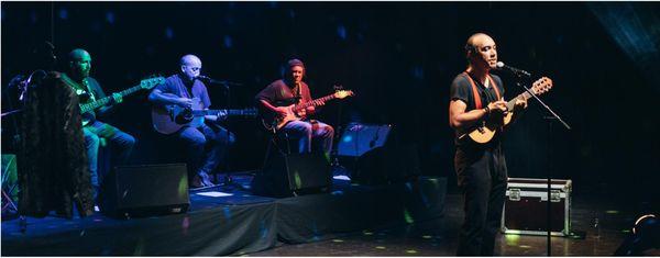 Eric Lauret et les musiciens