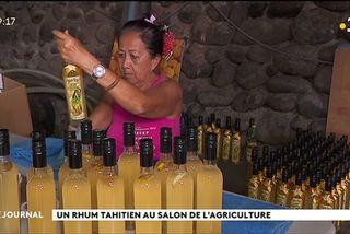 Le rhum tahitien au salon de l'agriculture