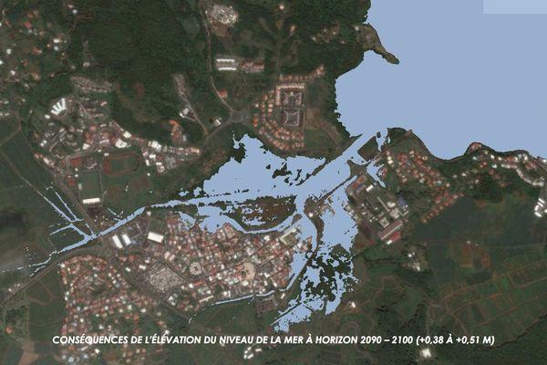 Le François (Martinique) en 2090-2100