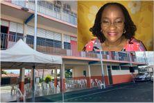 L'école élémentaire de Sainte-Thérèse B à Fort-de-France, porte désormais le nom de l'historienne Sabine Andrivon-Milton (mars 2021)