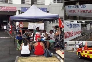 Grève effective au Centre hospitalier du Taaone