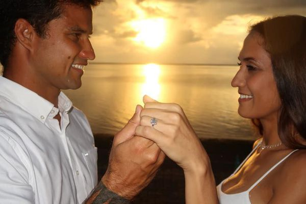 demande mariage Michel Bourez
