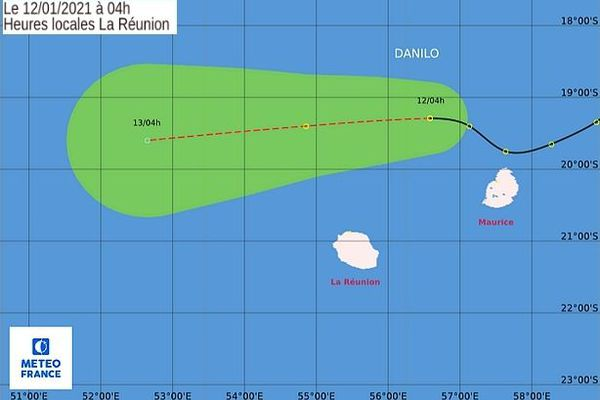 Ultime trajectoire de Danilo 12 janvier 2021