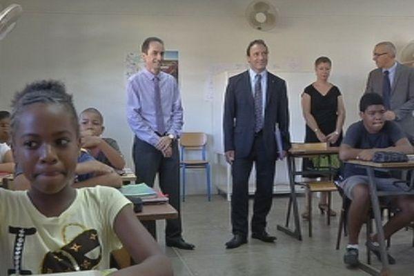 Thierry Terret au collège de la Bourdonnais