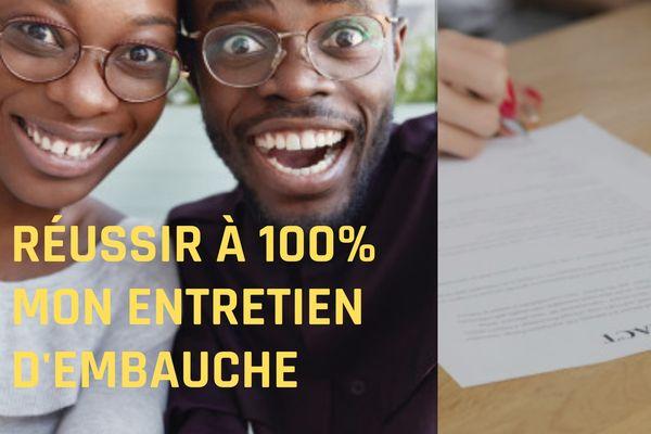 ebook réussir à 100% mon entretien d'embauche
